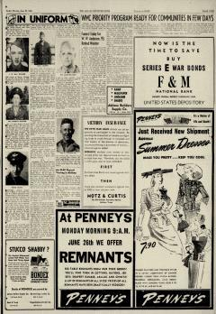 Abilene Reporter News, June 25, 1944, Page 19