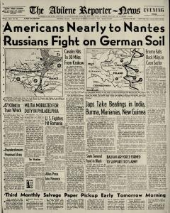 Abilene Reporter News, August 05, 1944, Page 3