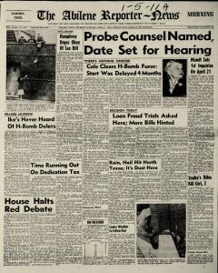 Abilene Reporter News newspaper archives