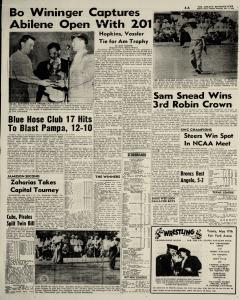 Abilene Reporter News, May 17, 1954, Page 4