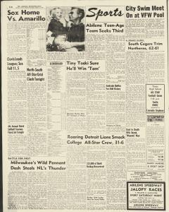 Abilene Reporter News, August 14, 1954, Page 4