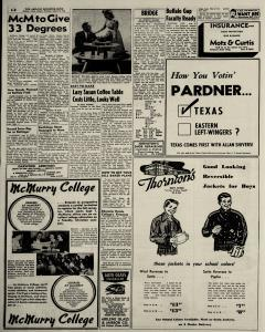 Abilene Reporter News, August 22, 1954, Page 20