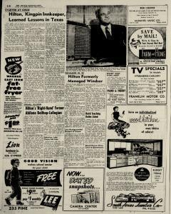 Abilene Reporter News, August 29, 1954, Page 16