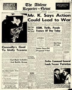 Abilene Reporter News, May 19, 1962, Page 25