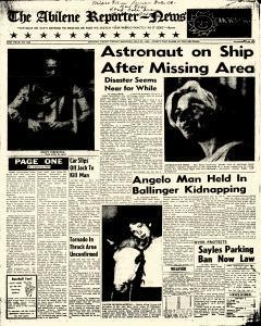 Abilene Reporter News, May 25, 1962, Page 1