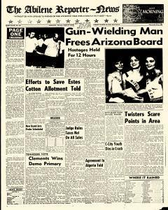 Abilene Reporter News, August 03, 1962, Page 1