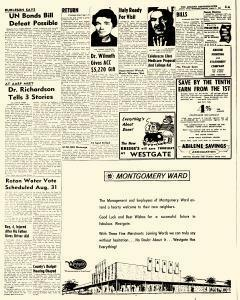 Abilene Reporter News, August 08, 1962, Page 4