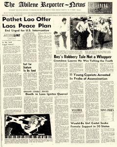 Abilene Reporter News, March 09, 1970, Page 1
