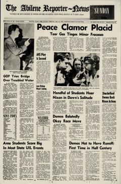 Abilene Reporter News, May 10, 1970, Page 1