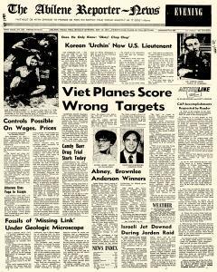 Abilene Reporter News, May 18, 1970, Page 1