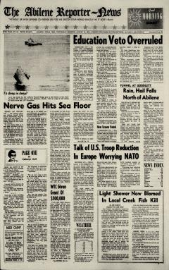 Abilene Reporter News, August 19, 1970, Page 2