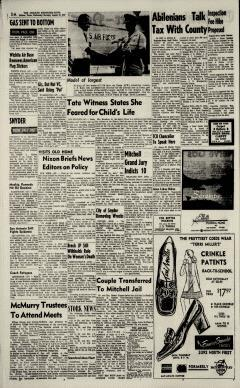 Abilene Reporter News, August 19, 1970, Page 4