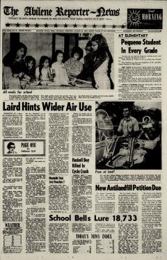 Abilene Reporter News, August 27, 1970, Page 3