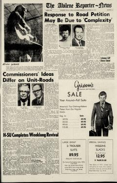 Abilene Reporter News, October 10, 1970, Page 19