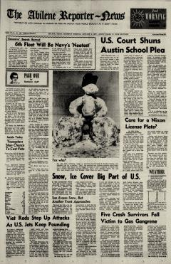 Abilene Reporter News, January 04, 1973, Page 1