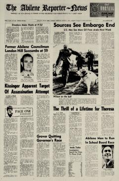 Abilene Reporter News, March 05, 1974, Page 2