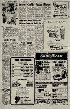 Abilene Reporter News, May 07, 1974, Page 4
