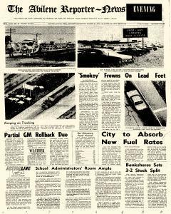 Abilene Reporter News, August 21, 1974, Page 1