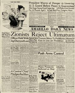 Amarillo Daily Panhandle, February 06, 1947, Page 1