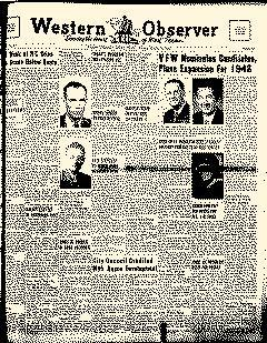 Anson Western Observer, March 12, 1948, Page 1