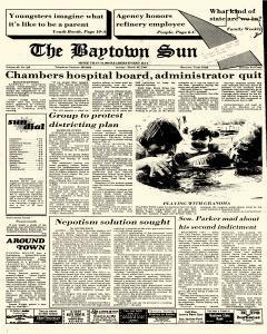 Baytown Sun, March 24, 1985, Page 1