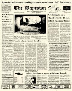 Baytown Sun, August 06, 1987, Page 1