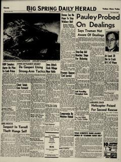 Big Spring Daily Herald, December 12, 1947, Page 1