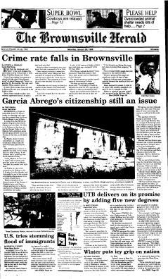 Brownsville The Herald, January 20, 1996, Page 1
