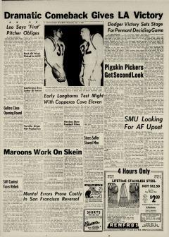 Brownwood Bulletin, October 03, 1962, Page 22