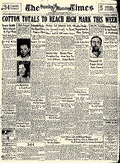 Corpus Christi Morning Times, August 18, 1929, Page 1