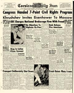 Corsicana Daily Sun, February 05, 1959, Page 1