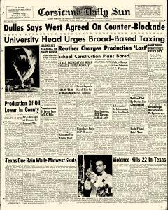 Corsicana Daily Sun, February 09, 1959, Page 1