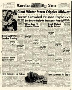 Corsicana Daily Sun, February 11, 1959, Page 1
