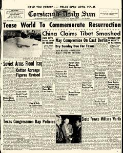Corsicana Daily Sun, March 28, 1959, Page 1