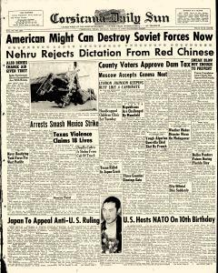 Corsicana Daily Sun, March 30, 1959, Page 1