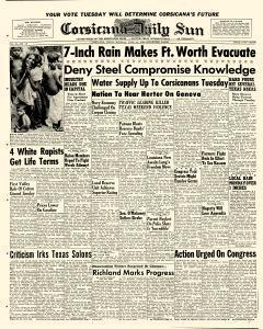 Corsicana Daily Sun, June 22, 1959, Page 1