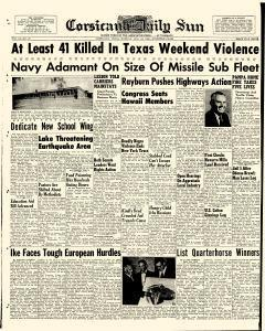 Corsicana Daily Sun, August 24, 1959, Page 1