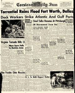 Corsicana Daily Sun, October 01, 1959, Page 1