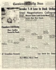 Corsicana Daily Sun, October 06, 1959, Page 1