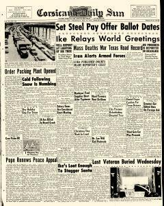 Corsicana Daily Sun, December 23, 1959, Page 1