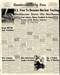 Corsicana Daily Sun, December 29, 1959, Page 1