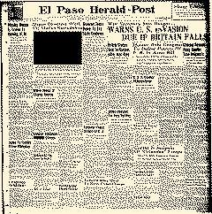 El Paso Herald Post, January 16, 1914, Page 1