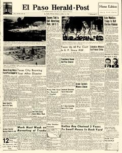 El Paso Herald Post, April 16, 1948, Page 1