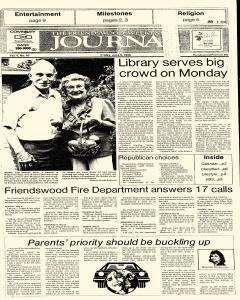Friendswood Journal, June 06, 1986, Page 1