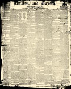 Civilian And Gazette, September 01, 1857, Page 1