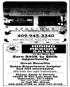 Galveston County Daily News, December 20, 2009, Page 39