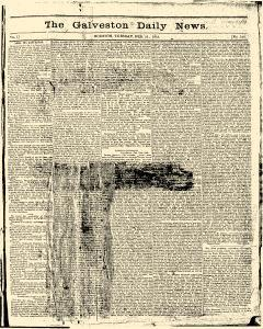 Galveston Daily News, February 21, 1865, Page 1