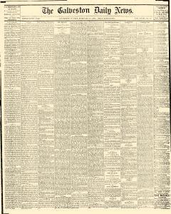 Galveston Daily News, February 28, 1875, Page 1