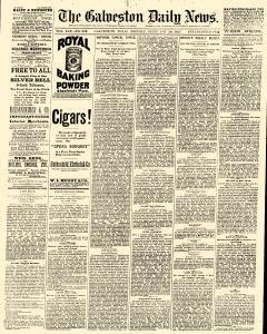 Galveston Daily News, February 28, 1887, Page 1