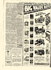 Galveston Daily News newspaper archives